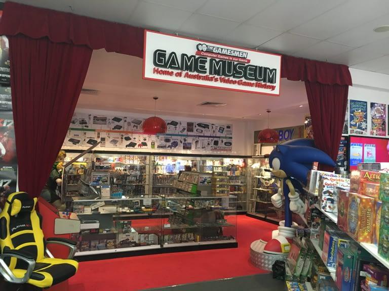 The Gamesmen Retro Video Game Museum